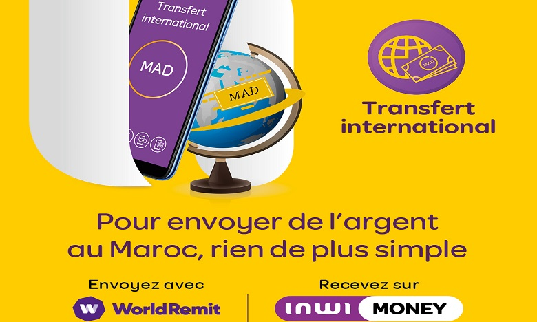 inwi money lance la réception du transfert international