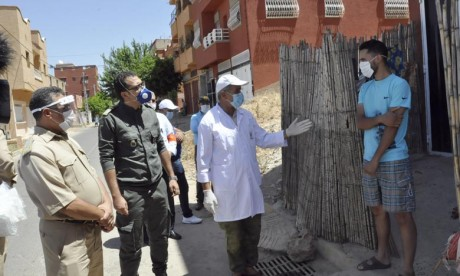 Covid-19: Nouvel assouplissement des mesures restrictives à Béni-Mellal