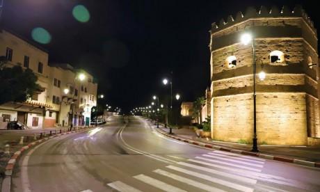 Rabat: Quatorze individus interpellés pour violation de l'état d'urgence  sanitaire