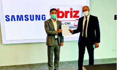 Le wallet du CMI téléchargeable sur les Samsung Galaxy