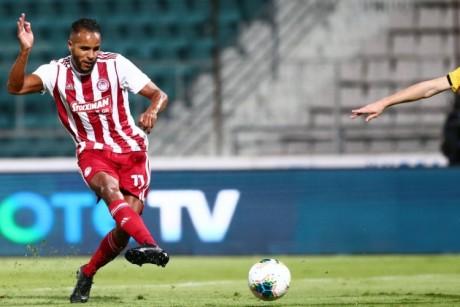 Doublé coupe-championnat pour Youssef El Arabi avec l'Olympiakos le Pirée