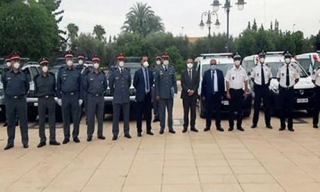 Remise de 11 véhicules à la police  et à la gendarmerie