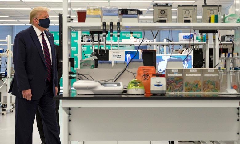Deux sociétés, Moderna et Pfizer, sont en phase 3 active des essais cliniques de leurs vaccins expérimentaux. Ph :  AFP