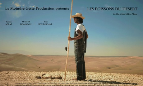 Projection du court métrage «Les Poissons  du désert» de Alaa Eddine Aljem