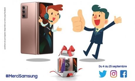 #MerciSamsung : le geste de la marque envers ses clients