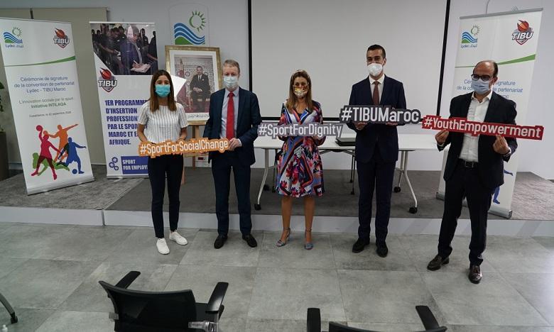 Tibu Maroc et Lydec s'allient pour promouvoir l'innovation sociale par le sport