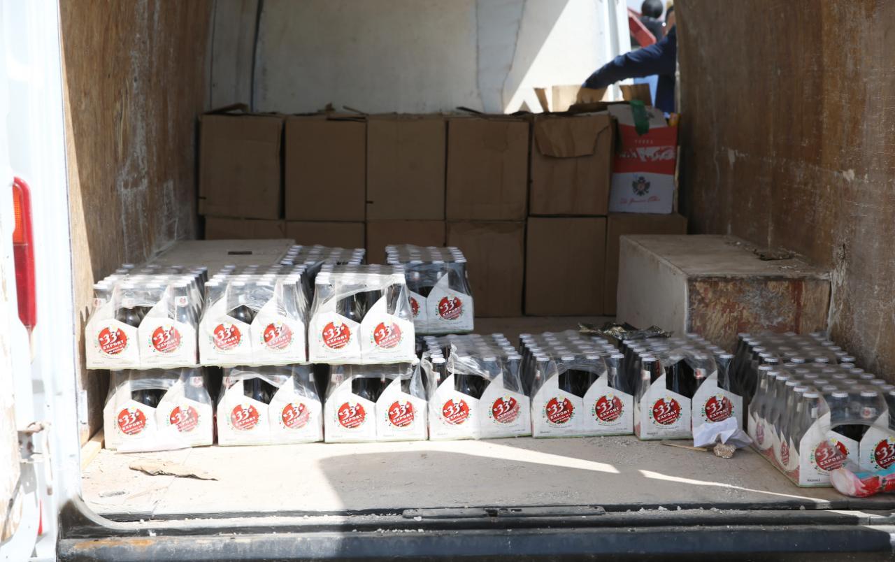 Fès : Saisie de plus de 55.000 bouteilles de boissons alcoolisées, trois individus interpelés