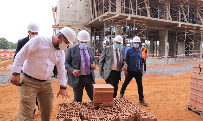 Saaid Amzazi a précisé que la durée de construction de cet Institut est de 18 mois, pour une enveloppe budgétaire de 70 millions de dirhams. Ph : MAP