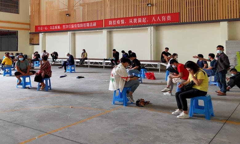 La Chine a fait état ces derniers mois de plusieurs foyers épidémiques localisés qui  ont été rapidement traités. Ph. AFP