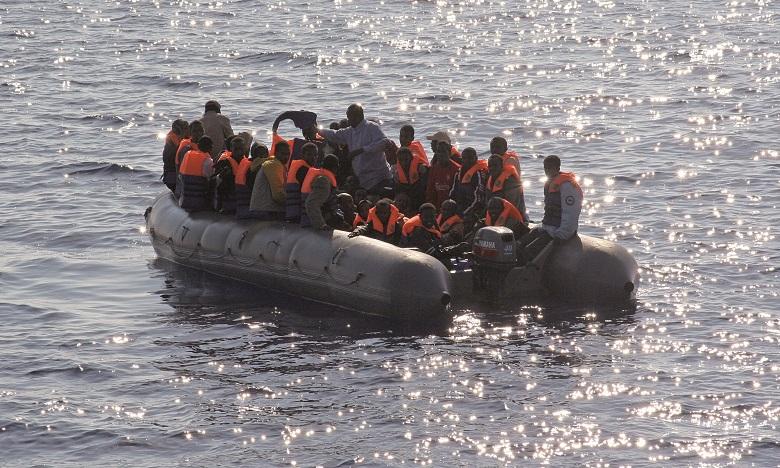 Interpellation de 168 candidats à l'immigration irrégulière en Méditerranée
