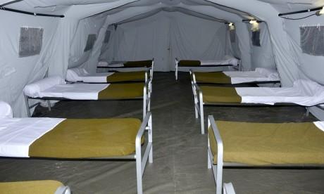Covid-19: Lancement des travaux d'aménagement d'un hôpital de campagne à Béni Mellal