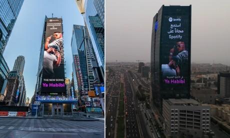 "Spotify célèbre le dernier single de Mohamed Ramadan et Gims, ""Ya Habibi"""