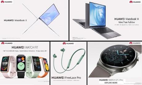 PC, watch, earbuds... Découvrez les six nouveautés de Huawei