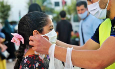 Casablanca: Lancement d'une campagne de distribution de masques et de gel hydroalcoolique