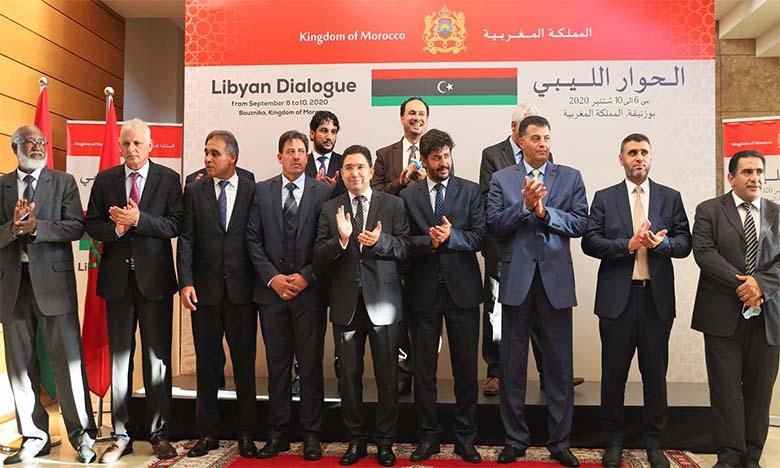 Dialogue libyen de Bouznika : Accord global sur les critères et les mécanismes transparents et objectifs pour occuper les postes de souveraineté