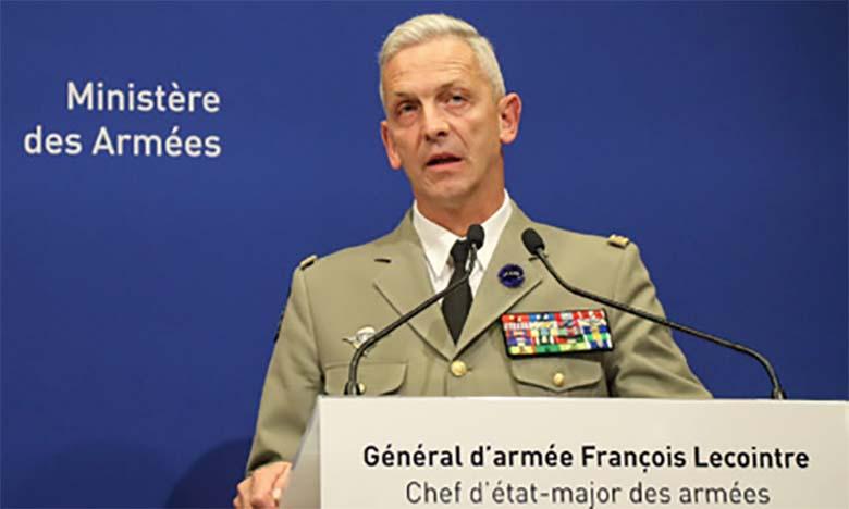Le général d'armée François Lecointre, chef d'état-major des Armées françaises, en visite officielle au Maroc du 9 au 12 septembre 2020