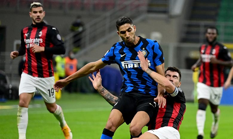 Sans Hakimi, l'Inter tenu en échec par Mönchengladbach