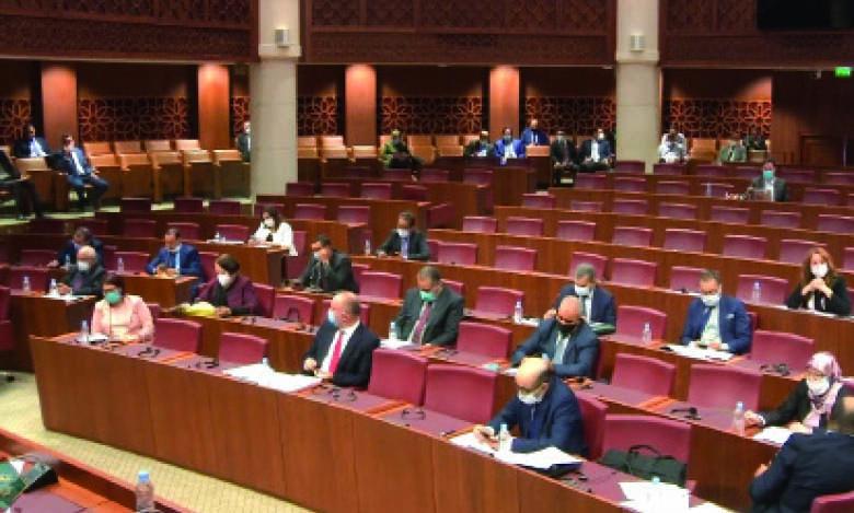Réunion consacrée à la liquidation du régime de retraite des parlementaire, mardi dernier, dans le cadre de la Commission des finances.