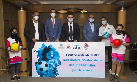 Lancement du premier centre d'émancipation des jeunes filles adolescentes par le sport