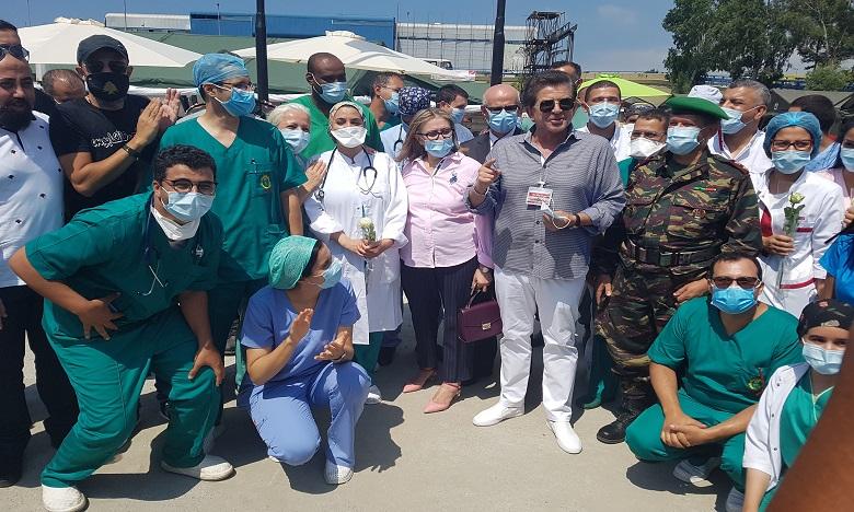 Beyrouth : Mission accomplie par l'Hôpital Médico-Chirurgical de Campagne déployé par les FAR
