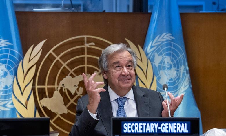 Antonio Guterres se félicite de la coopération exemplaire du Maroc