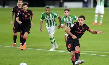 Liga: Les «favoris» chutent, la Real Sociedad nouveau leader