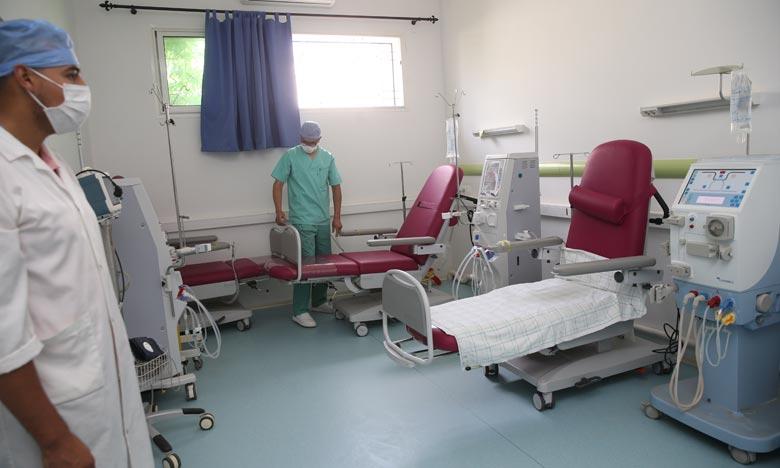 La création du Centre d'hémodialyse à Al-Hoceima vise à promouvoir le secteur de la santé, à améliorer la qualité des services fournis aux patients de la province. Ph : MAP