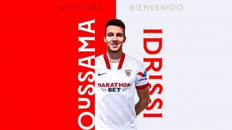 L'international marocain Oussama Idrissi s'engage avec FC Séville pour 5 ans