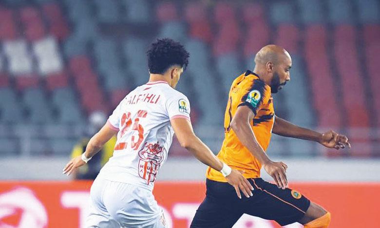 Mohammed Aziz (orange) est la force de frappe de la RS Berkane en attaque. Il compte sept buts au compteur.