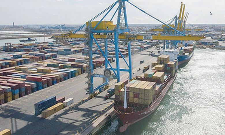 Les approvisionnements ayant transité par les ports marocains se sont  accrus de 8,8% et les exportations de 4,5% à fin août dernier.