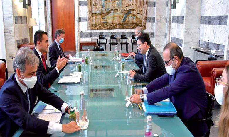 Le ministère italien des Affaires étrangères salue la dynamique d'ouverture, de progrès et de modernité impulsée par S.M. le Roi Mohammed VI
