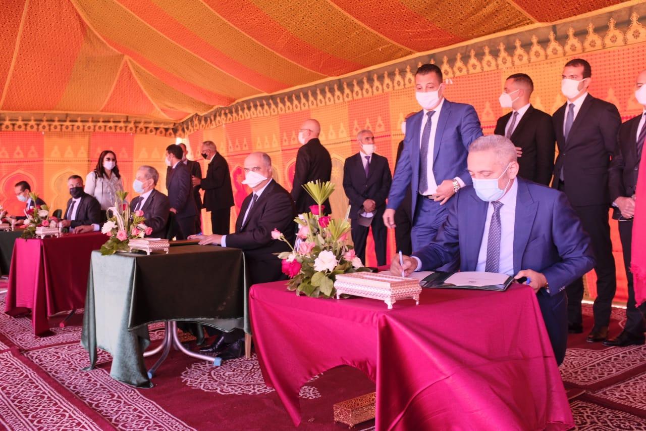 Zones industrielles : Plus de 303 millions de DH pour la réalisation du Parc Ain Cheggag