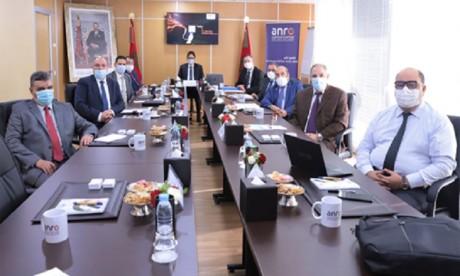 L'ANRE tient son premier Conseil et approuve sa stratégie 2021-2025