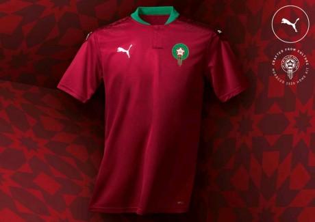 La FRMF dévoile le nouveau maillot des Lions de l'Atlas