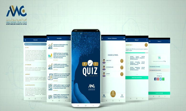 L'AMMC lance l'application «Quiz Finance»