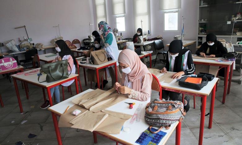 Le projet vise à mettre en place des espaces organisés et adéquats pour les artisans, dans le respect des conditions en vigueur dans ce domaine. Ph : MAP