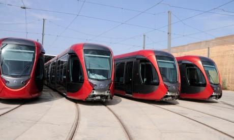 Casablanca: Les derniers départs de tramway seront avancés dimanche prochain
