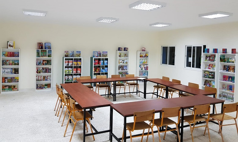 Fondation Al Omrane : Une bibliothèque pour l'école publique Sidi Abdellah