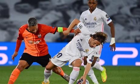 Ligue des champions  :   Le Real Madrid rate son entrée en lice