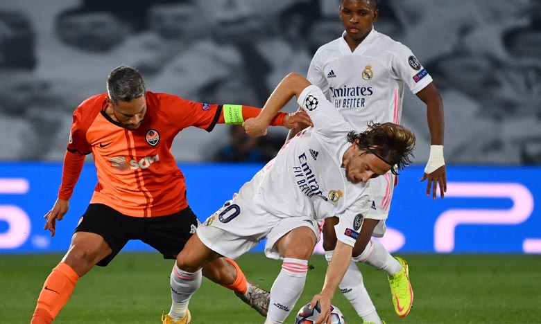 Ligue des champions  :   Le Real Madrid rate son entrée en lice