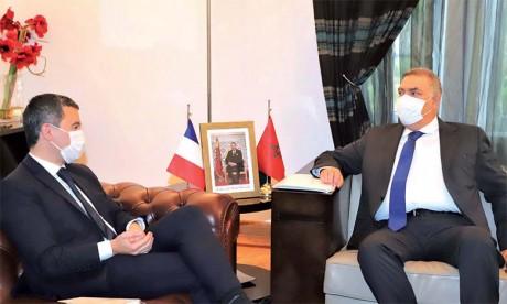 Gérald Darmanin affirme que la coopération  franco-marocaine est «nécessaire»