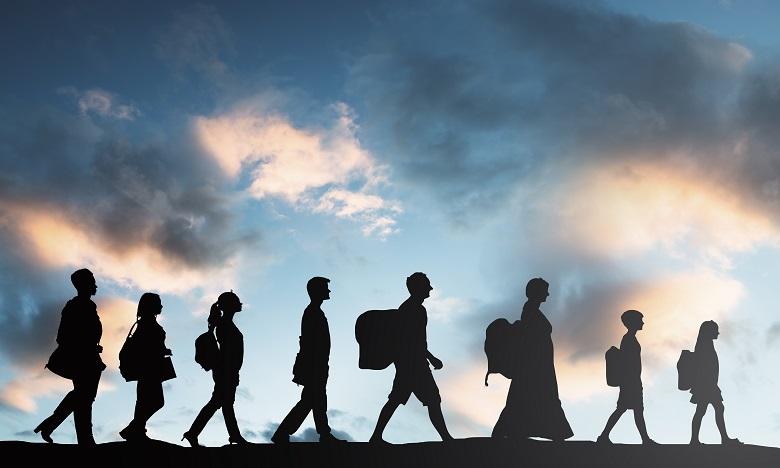 Crise sanitaire: chute brutale des flux migratoires en 2020