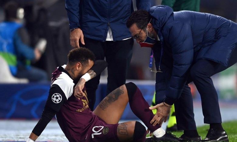 Neymar manquera donc deux matches de Ligue 1, à Nantes et contre Rennes au Parc des princes ainsi que de la rencontre de Ligue des champions sur la pelouse du RB Leipzig. Ph : AFP