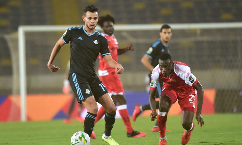 Supérieur dans tous les compartiments de jeu, le Pyramids FC a logiquement dominé le Horoya.