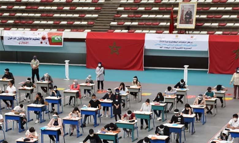 Casablanca-Settat: Plus de 66 mille candidats à l'examen régional unifié