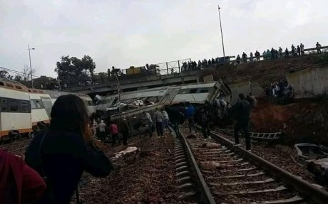 Le déraillement d'un train entre Fès et Oujda est une fake news