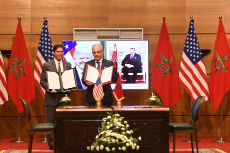 Rabat et Washington signent un accord de coopération en matière de défense 2020-2030