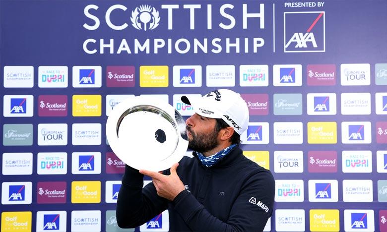L'Espagnol Otaegui vainqueur du Scottish Championship