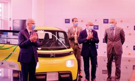Commande de 225 véhicules électriques «made in Kénitra»