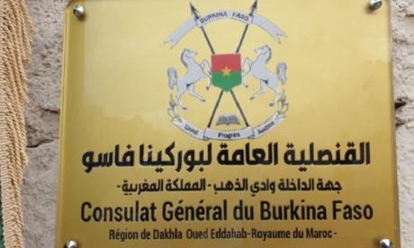 La République du Burkina Faso ouvre un consulat général à Dakhla